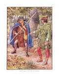 Robin Hood and the Beggar  C1920