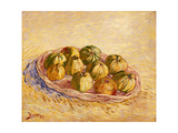 Still Life  Basket of Apples  Autumn 1887