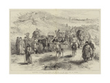 Mussulman Pilgrims from Persia on the Way to the Holy City of Meshed