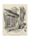 Tomb of Omar Khayyam  the Persian Poet  at Naishapur