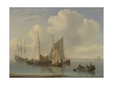 Dutch Sailing Vessels  1814