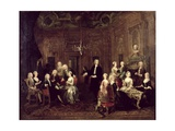 The Wollaston Family  1730