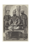 The Eldest Son of the King of Delhi  His Treasurer and Physician