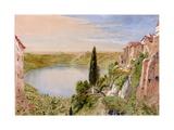 Lake Nemi  1862