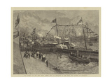 The Opening of the New Royal Albert Dock at Woolwich by the Duke and Duchess of Connaught