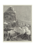The Defence of Gibraltar  Combined Naval and Military Operations  13 March