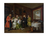 Marriage a La Mode: Vi  the Lady's Death  C1743