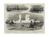 The Blowing-Up of Flood Rock  Hell Gate  New York