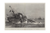 The Loss of HMS Victoria  the Flagship Sinking after Being Rammed by HMS Camperdown