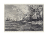 The Naval Manoeuvres  Action Off the Isle of Man  3 August