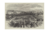 Gardens on the Thames Embankment