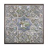 A Pottery Tile Panel