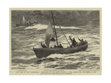 The Loss of the Jeannette  Separation of the Boats During a Gale  Seven Pm  12 September 1881