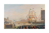 The Opening of St Katherine's Dock  25th October 1828