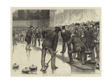 Curling at an Ice Rink  Manchester