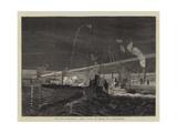 Torpedo Warfare  a Sham Fight by Night at Portsmouth