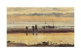 Towards Sunset  Boulogne Sands  1873