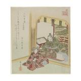 Komatsu Shigemori from the Tales of Heike  C 1820