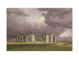 Stonehenge: Stormy Day  1846