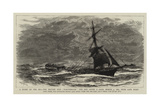 A Story of the Sea  the British Ship Northbrook the Day after a Gale  4 March 1885  Near Cape Horn