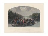 Marion Crossing the Pedee  1852