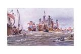 Battle of Sluys 1340 Ad  1915
