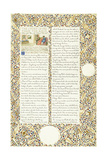 Calligraphic and Illuminated Manuscript  C1871-1873 (Inks and Paint on Paper)