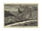 The Balloon Accident  the Saladin Drifting Seaward