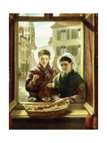 At My Window  Boulogne  1872