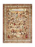 An Antique Kirman Masha'Ir Carpet