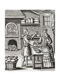 A 16th Century Baker's Shop from Illustrierte Sittengeschichte Vom Mittelalter Bis Zur Gegenwart b