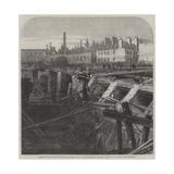 Bursting of the Fleet Ditch and Destruction of Part of the Metropolitan Railway