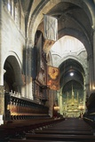 Central Nave and Altar of Cathedral of Tarragona