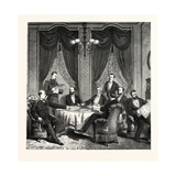 Franco-Prussian War: Plenipotentiary Conference Dealing with Peace in Frankfurt