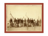 Famous Battery E of 1st Artillery These Brave Men and the Hotchkiss Gun That Big Foot's Indians Th