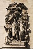 France Paris Arc De Triomphe Le Triomphe by Jean-Pierre Cortot This Group Features Napoleon