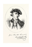 Portrait and Autograph of General Horatio Gates