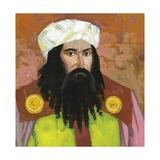 Portrait of Averroes (Abu L-Walid Muhammad Ibn Ahmad Rushd) (Cordoba