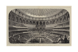 Opening of the Royal Albert Hall of Arts and Sciences by Her Majesty  29 March 1871