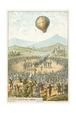 First Demonstration of a Hot Air Balloon by the Montgolfier Brothers  Annonay  France  4 June 1783