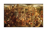 Passion of Christ  1471  by Hans Memling (Circa 1430-1494)  Oil on Panel  57X92 Cm