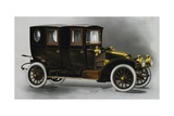 Renault Ax Twin Coupe' Limousine  from 1911 Renault Catalog  France  20th Century