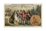 Louis XIV of France Overseeing the Construction of the Palace of Versailles