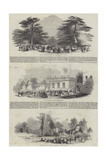 The Duke of Devonshire's Grand Fete to the Emperor of Russia  at Chiswick House