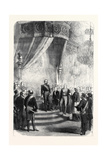 New Year's Day at the Tuileries: the Papal Nuncio Congratulating the Emperor France 1869