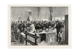 The Deputies of the Versailles Assembly in the Refreshment Room  1873