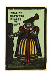 Illustration of English Tales Folk Tales and Ballads a Woman Talk of Flames and Darts
