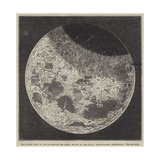 Telescopic View of the Eclipse of the Moon  Drawn at the Royal Observatory  Greenwich