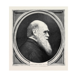Charles Robert Darwin  LlD  FRS  Born February 12  1809; Died April 19  1882