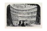 Performance before Her Majesty in the Theatre of the Palace of St Cloud